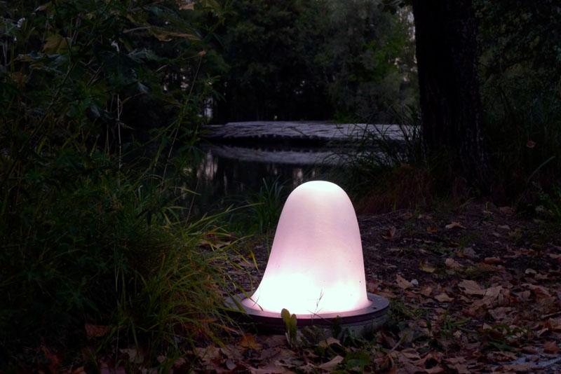 Leuchte im Park