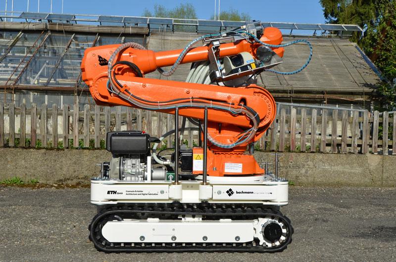 Mobile Roboteranlage