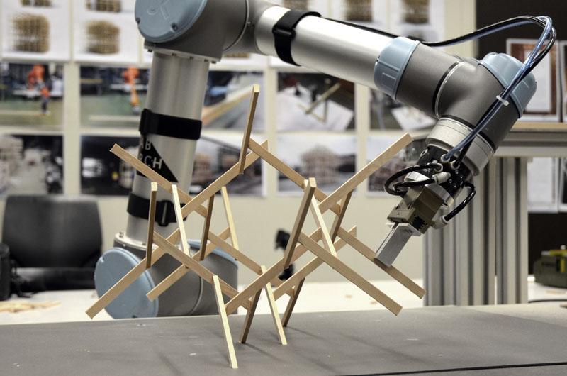 Roboter Aufbau