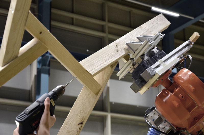 Roboterpositionierung