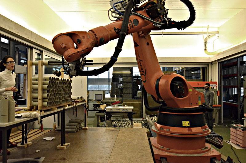 Roboter Assemblierungsprozess