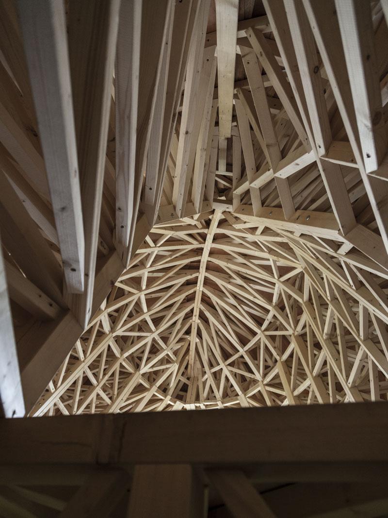 Fertige Struktur - Ansicht von innen