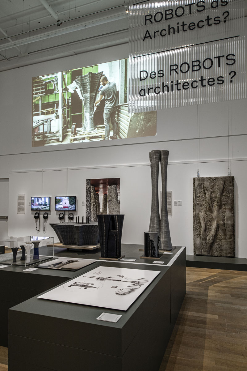 Ausstellung «Designlabor: Material und Technik» im Museum für Gestaltung Zürich, 2019/2020, © ZHdK