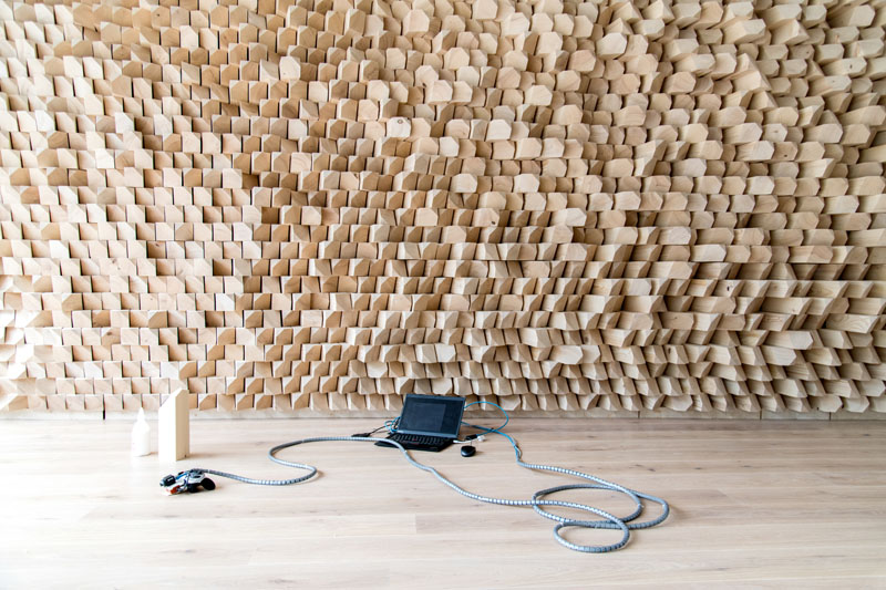 AR Set-Up with Acoustic Wall